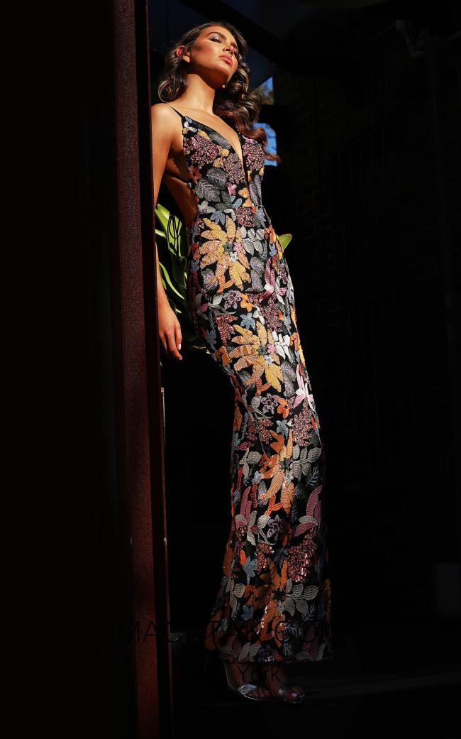 Jadore JX3051 Sunset Front Dress