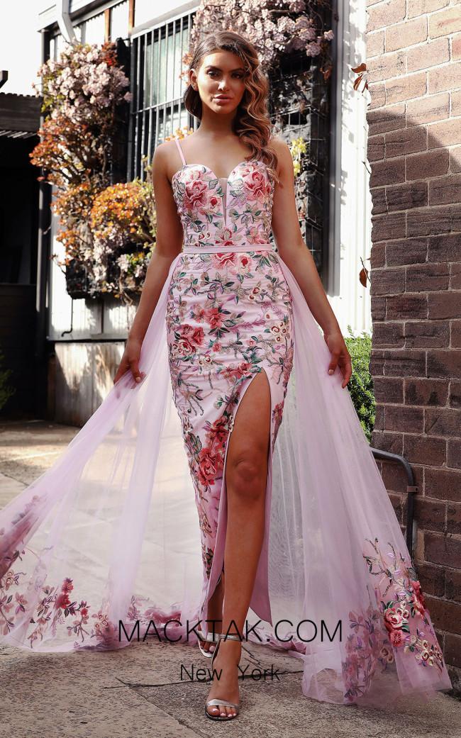 Jadore Australia JX3058 French Rose Front Dress