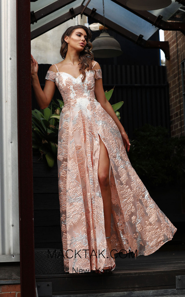 Jadore Australia JX3062 Pink Front Dress