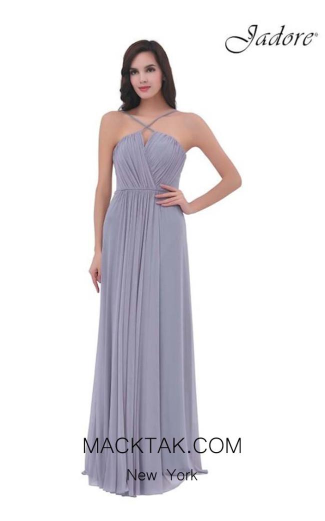 Jadore J11339 Ice Smoke Front Dress