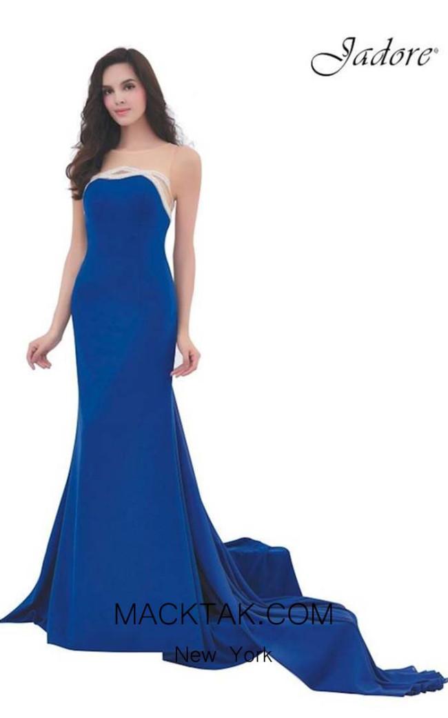 Jadore J11349 Royal Blue Front Dress