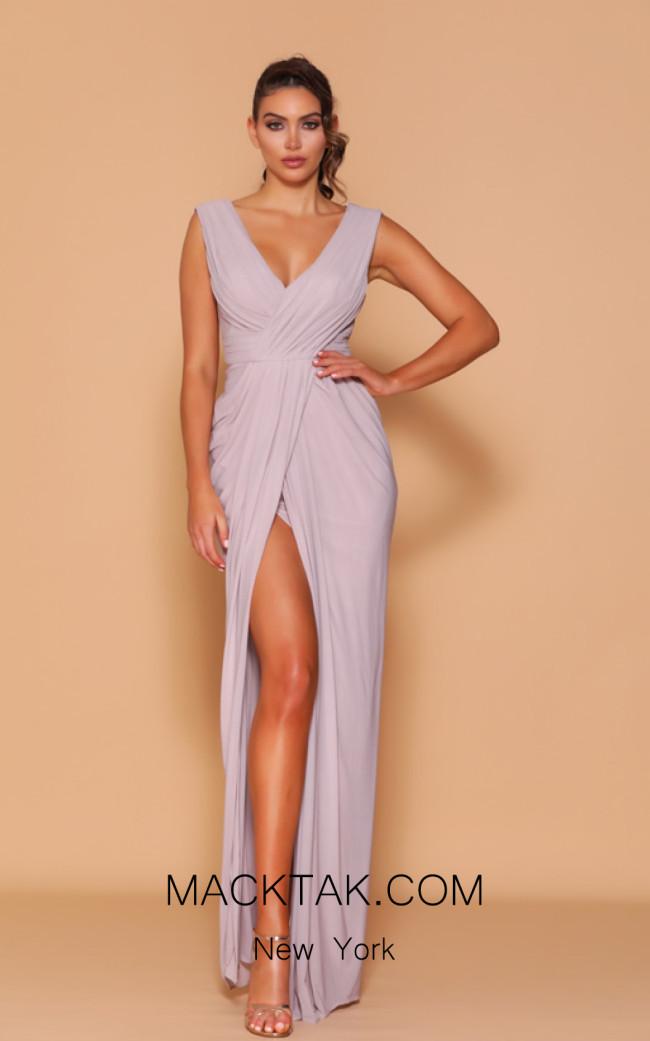 Jadore Les Demoiselle LD1046M Frost Front Dress