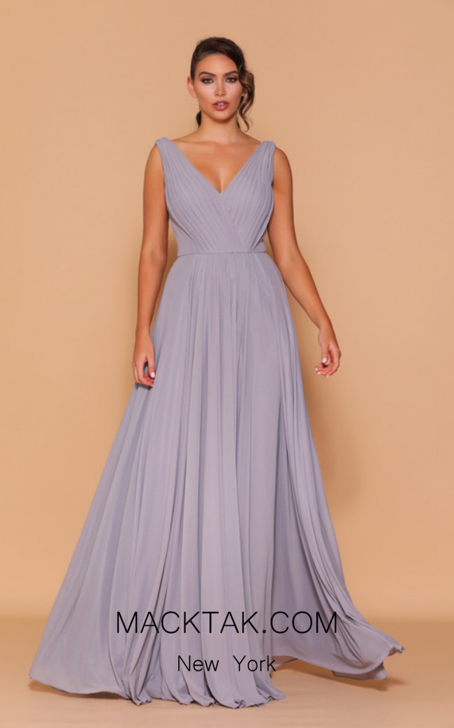 Jadore Les Demoiselle LD1109 Ice Smoke Front Dress