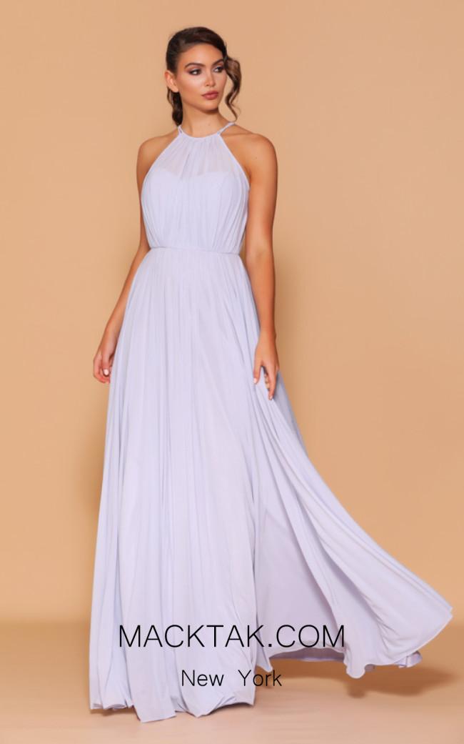 Jadore Les Demoiselle LD1112 Lilac Front Dress