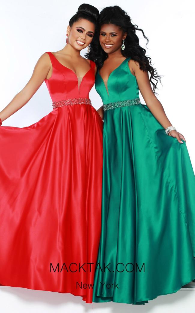 Jasz Couture 6421 Front Dress