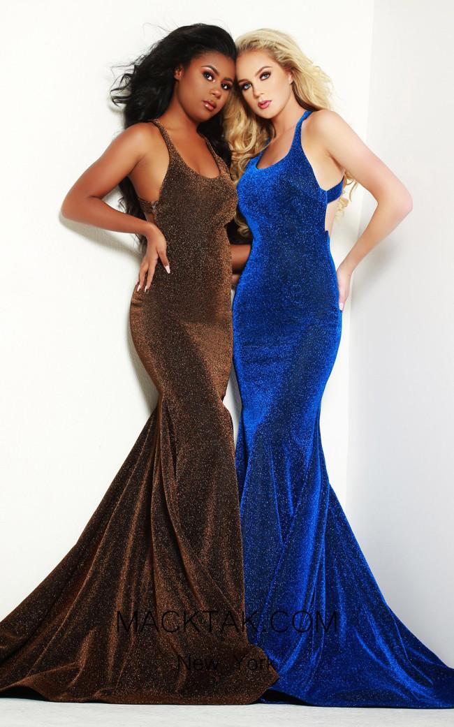 Jasz Couture 6433 Front Dress