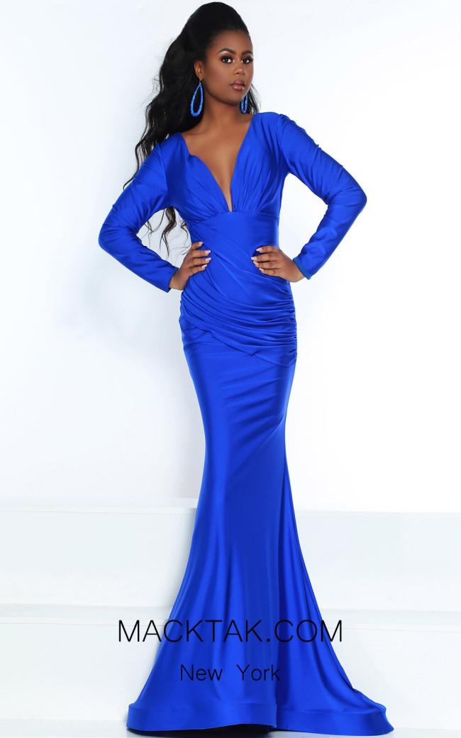 Jasz Couture 6504 Royal Front Dress