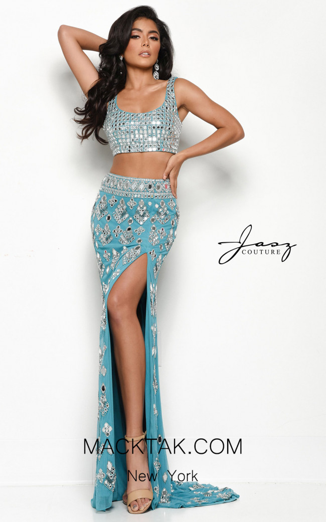 Jasz Couture 7114 Water Front Dress