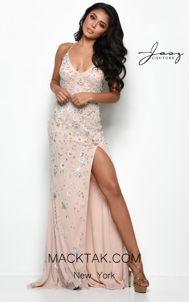 Jasz Couture 7134 Blush Front Dress