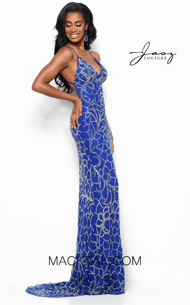 Jasz Couture 7145 Royal Front Dress