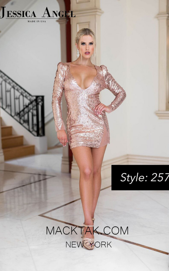 Jessica Angel 257 Front Dress