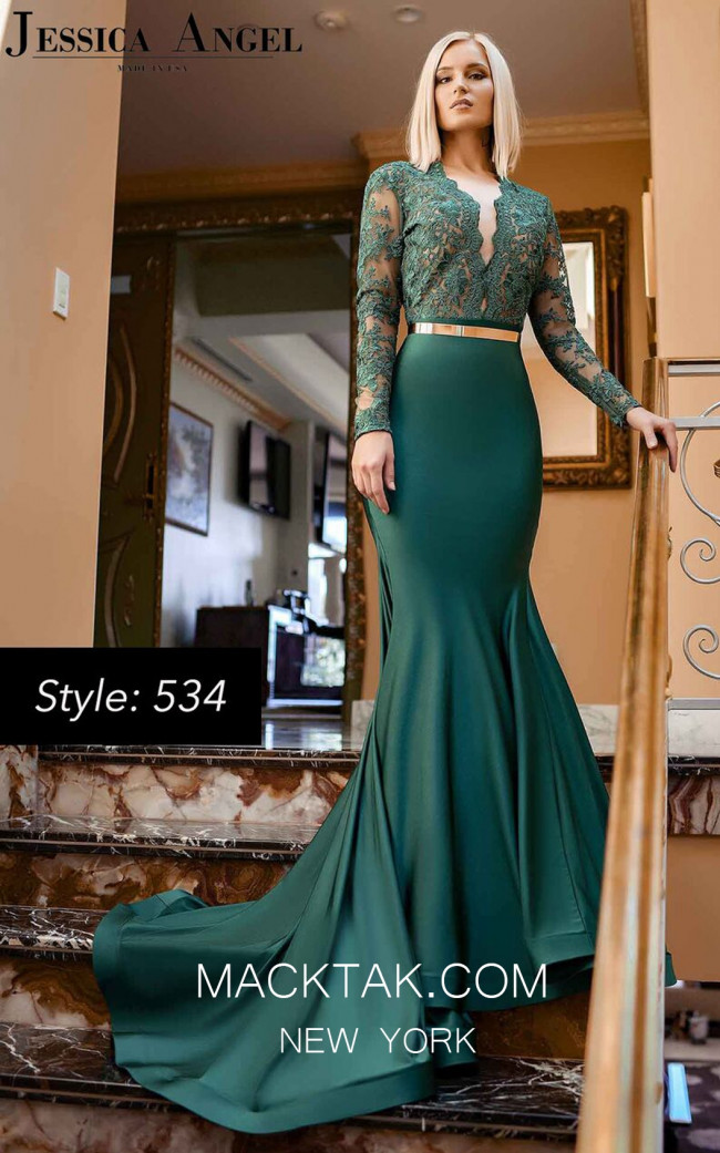 Jessica Angel 534 Front Dress