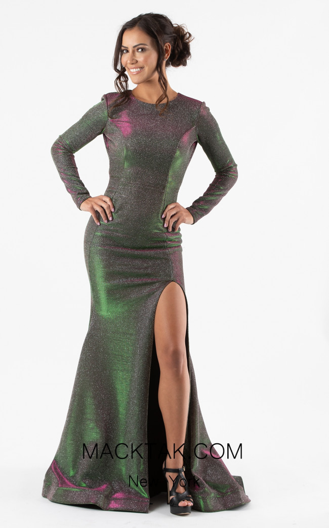 Jessica Angel 301 Green Front Dress