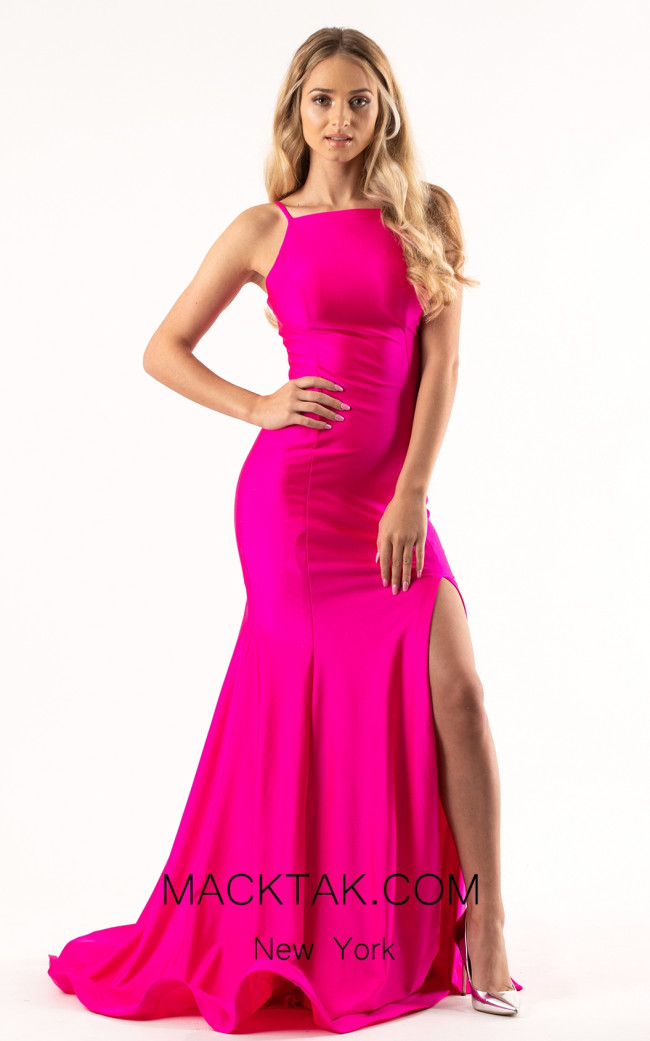 Jessica Angel 308 Pink Front Dress