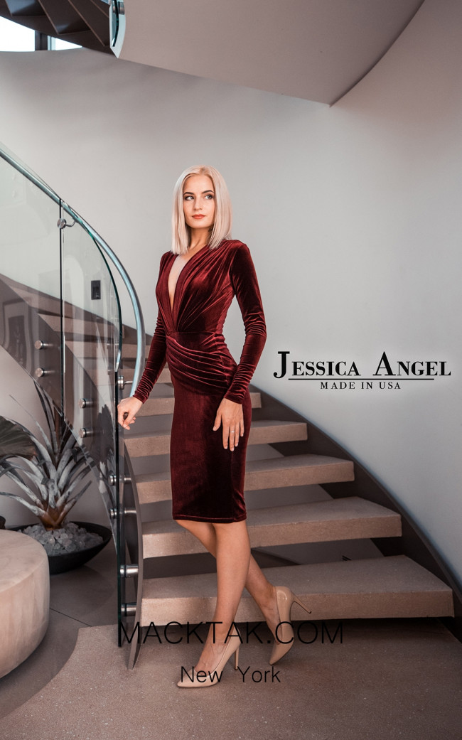Jessica Angel 325SV Front Dress