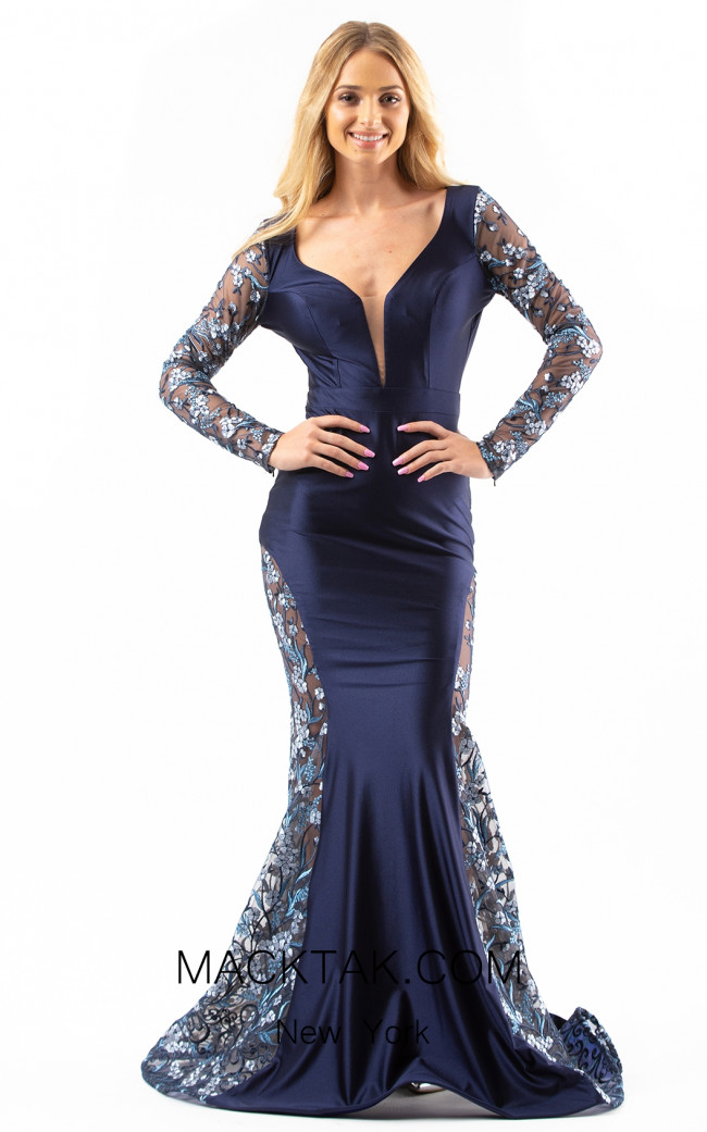 Jessica Angel 539 Navy Front Dress
