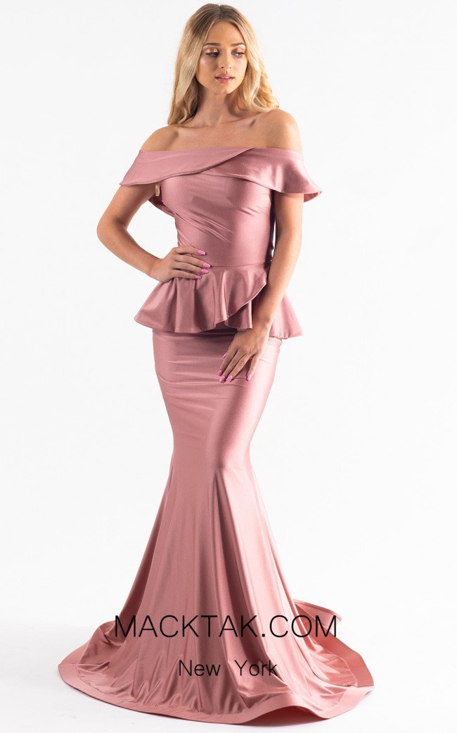 Jessica Angel 550 Pink Front Dress