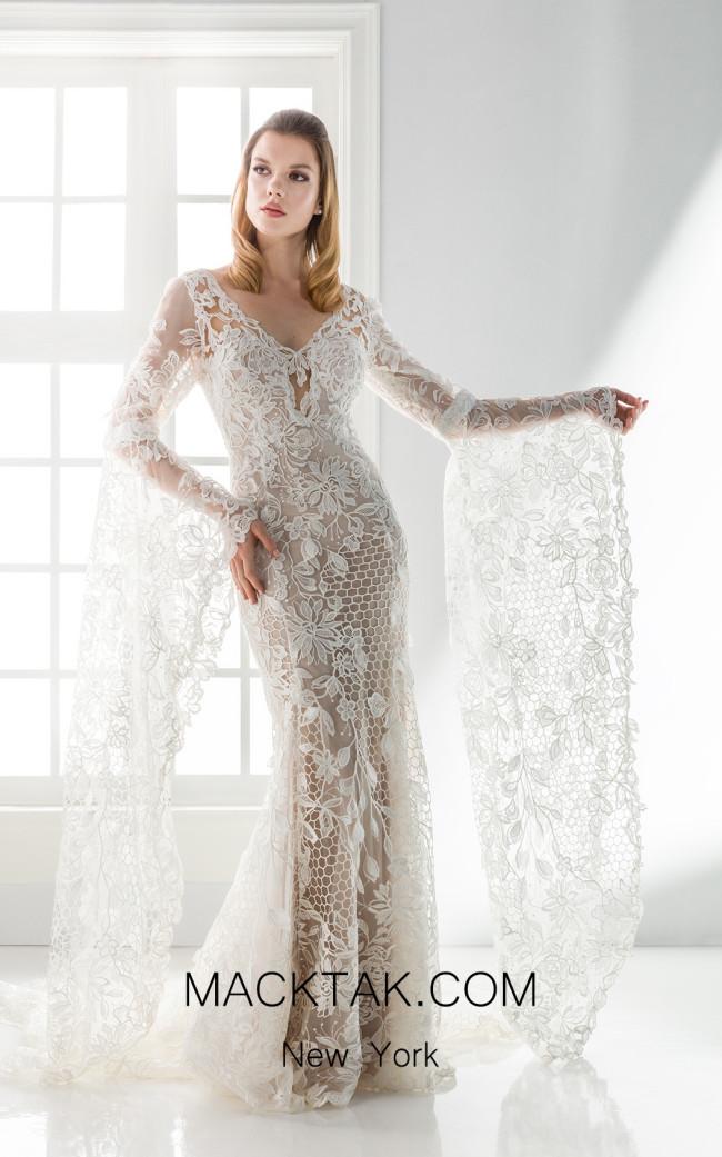 Jiouli Efkrati 767 Front Wedding Dress