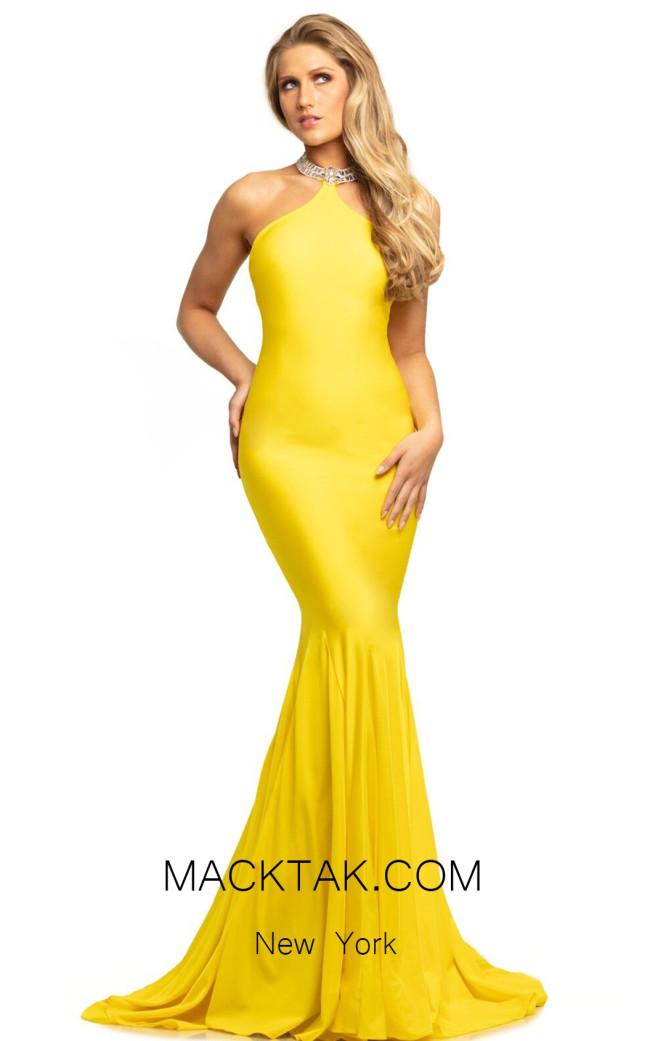 Johnathan Kayne 9212 Canary Front Dress