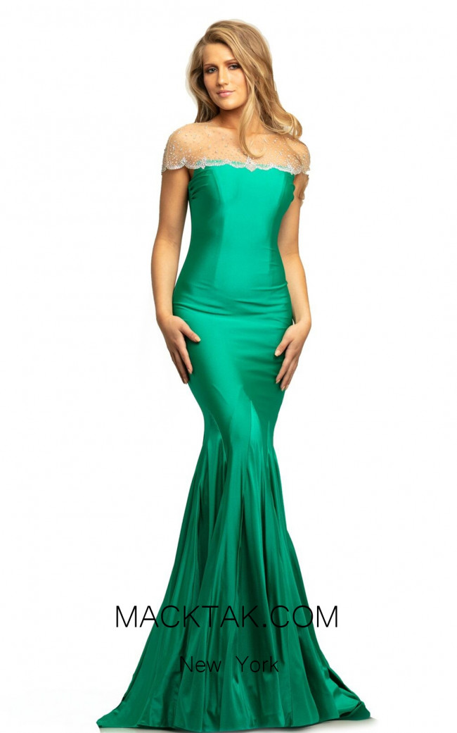Johnathan Kayne 9217 Emerald Front Dress