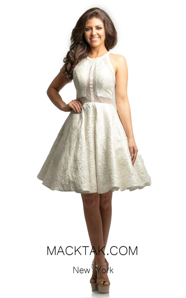 Johnathan Kayne 9233 Ivory Front Dress