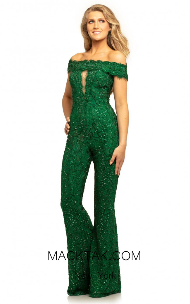 Johnathan Kayne 9237 Emerald Front Dress