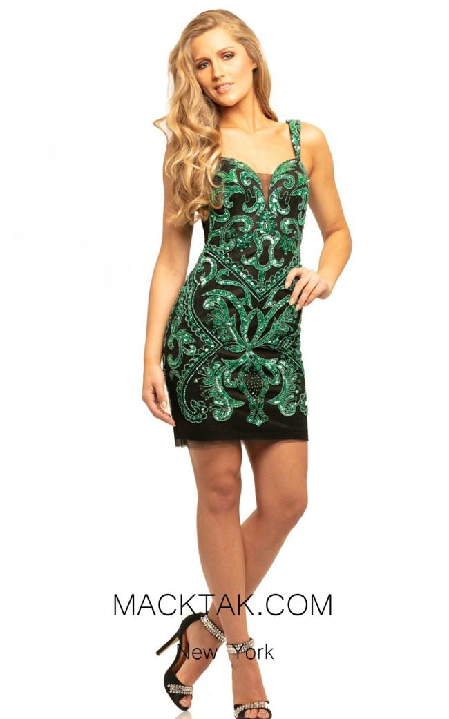 Johnathan Kayne 9241 Jade Front Dress