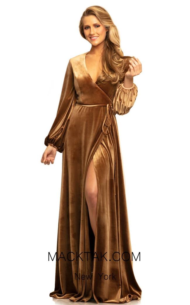 Johnathan Kayne 9243 Sable Front Dress