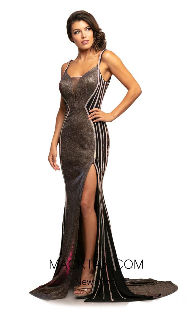Johnathan Kayne 2009 Fuchsia Multi Front Dress