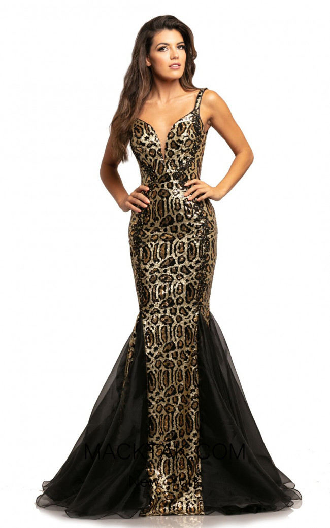 Johnathan Kayne 2026 Leopard Front Dress