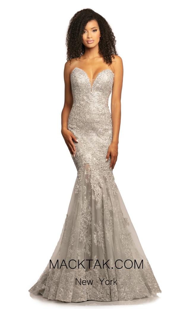 Johnathan Kayne 2032 Silver Front Dress