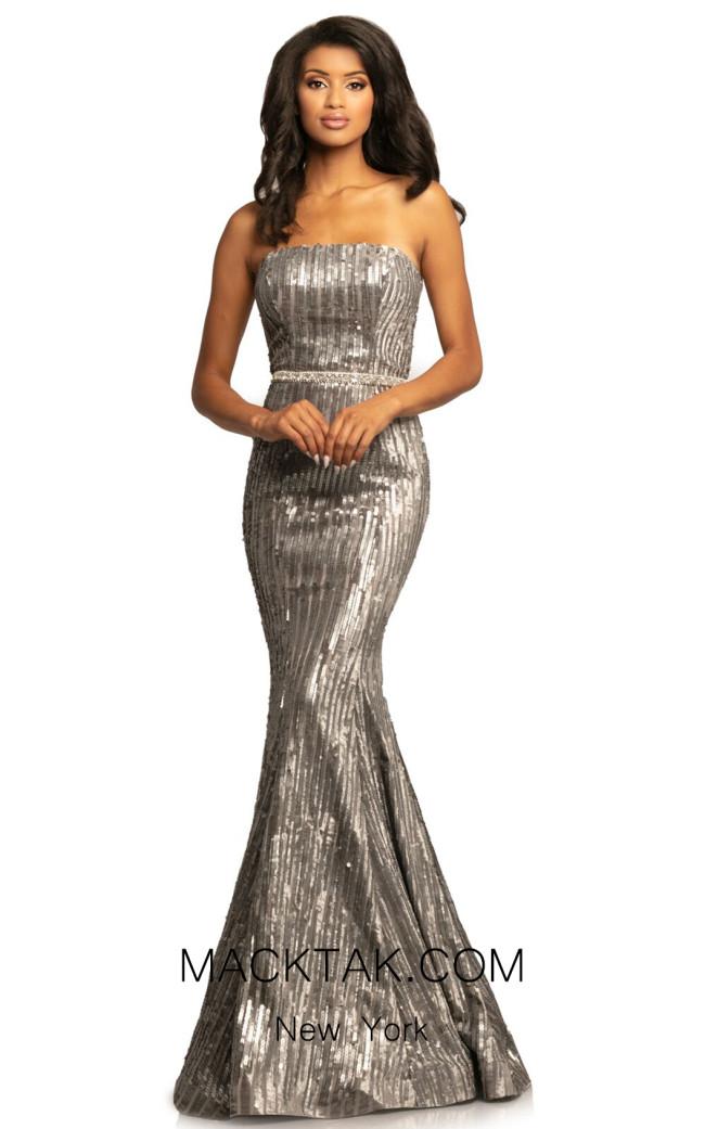 Johnathan Kayne 2033 Smoke Front Dress