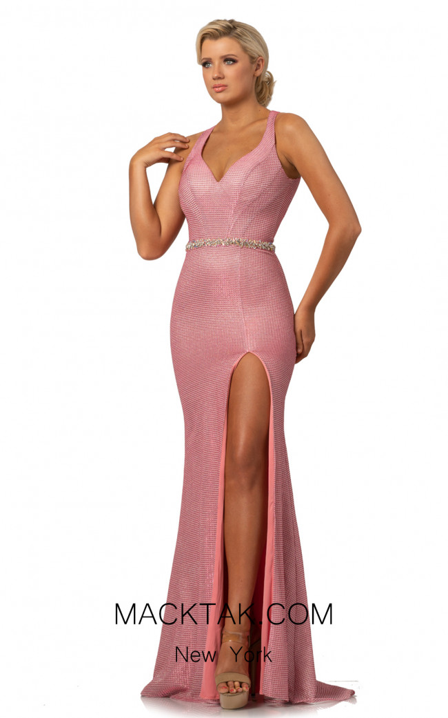 Johnathan Kayne 2071 Pink Front Dress