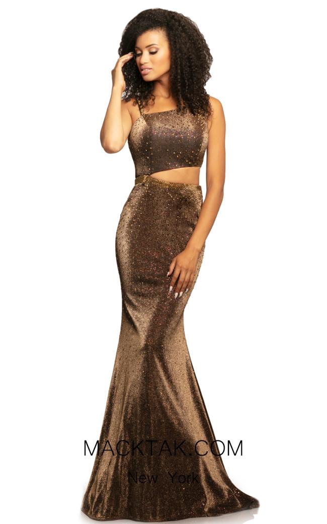 Johnathan Kayne 2081 Bronze Front Dress