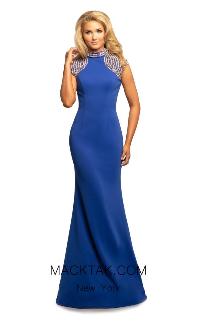 Johnathan Kayne 2089 Royal Front Dress