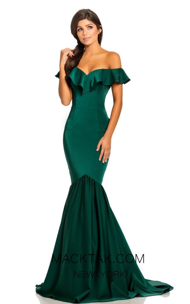 Johnathan Kayne 8032 Emerald Front Dress
