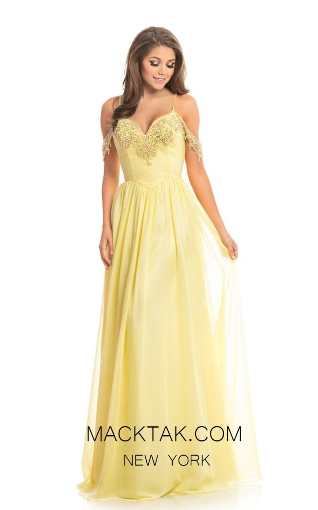 Johnathan Kayne 9005 Lemon Front Dress