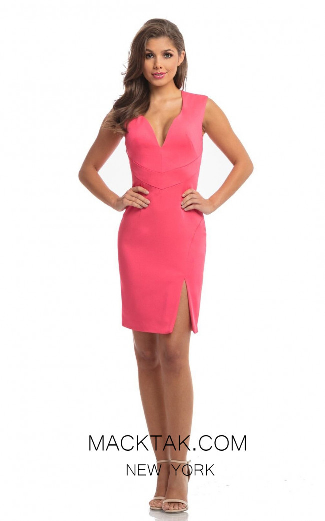 Johnathan Kayne 9022 Pink Front Dress