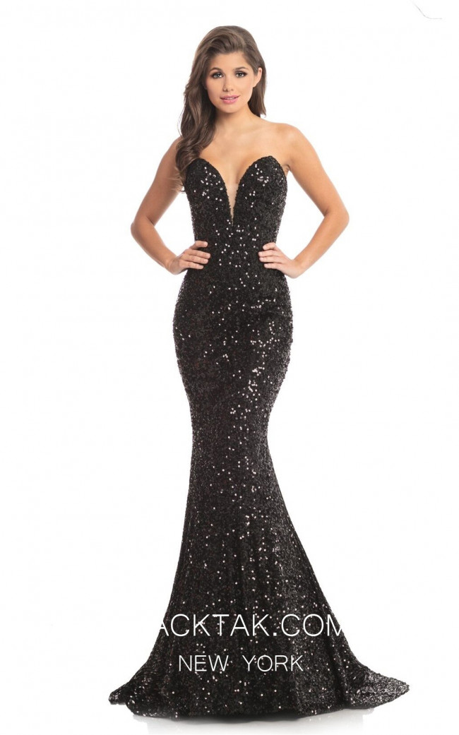 Johnathan Kayne Black Front 9040 Dress