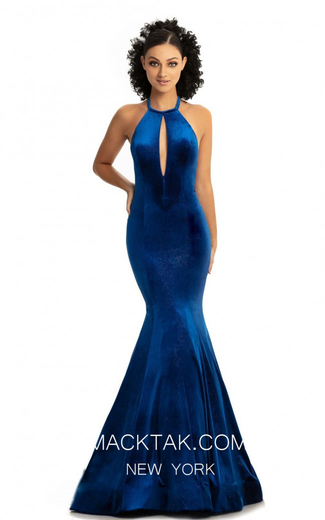 Johnathan Kayne 9046 Royal Front Dress