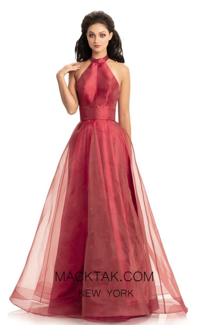 Johnathan Kayne 9092 Red Front Dress