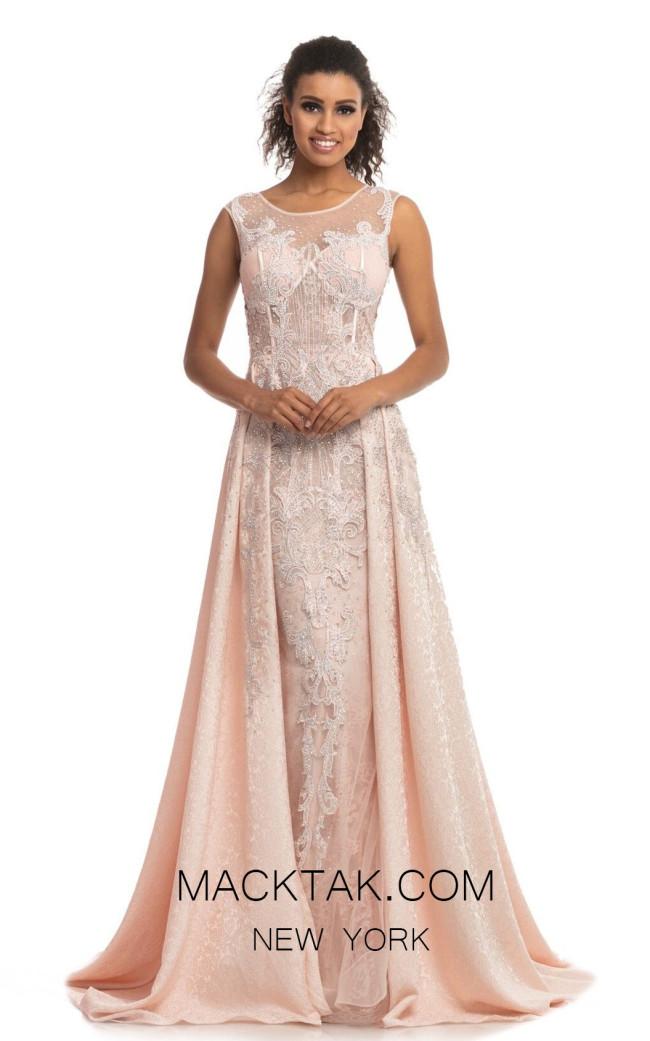Johnathan Kayne 9096 Pink Front Dress