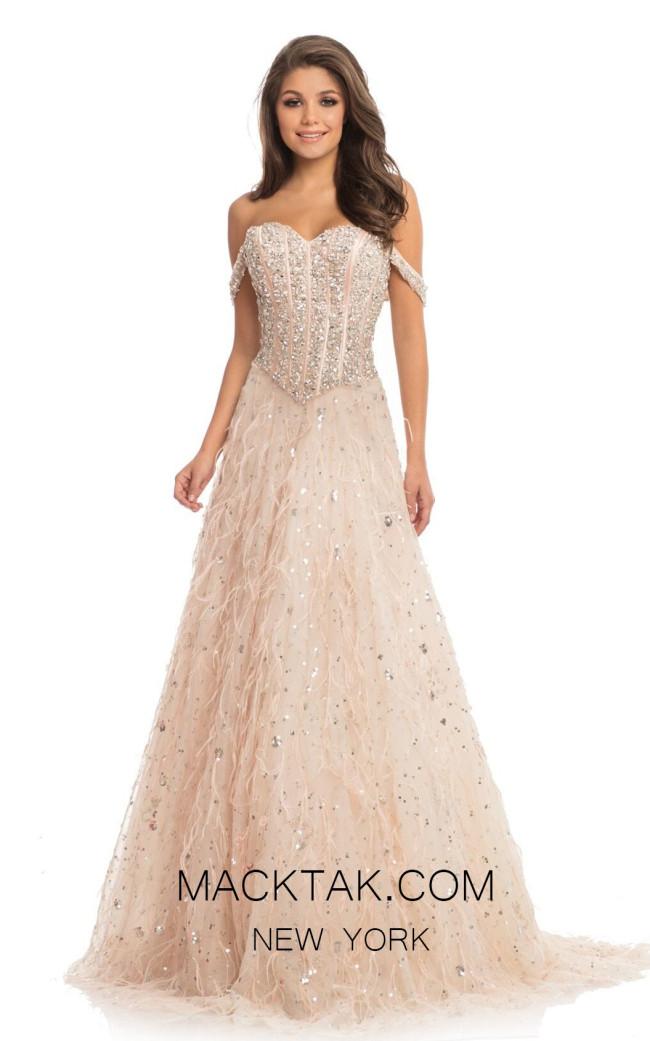 Johnathan Kayne 9103 Pink Front Dress