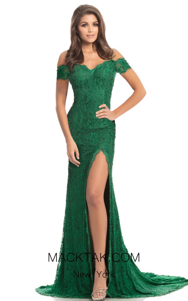 Johnathan Kayne 9216 Emerald Front Dress
