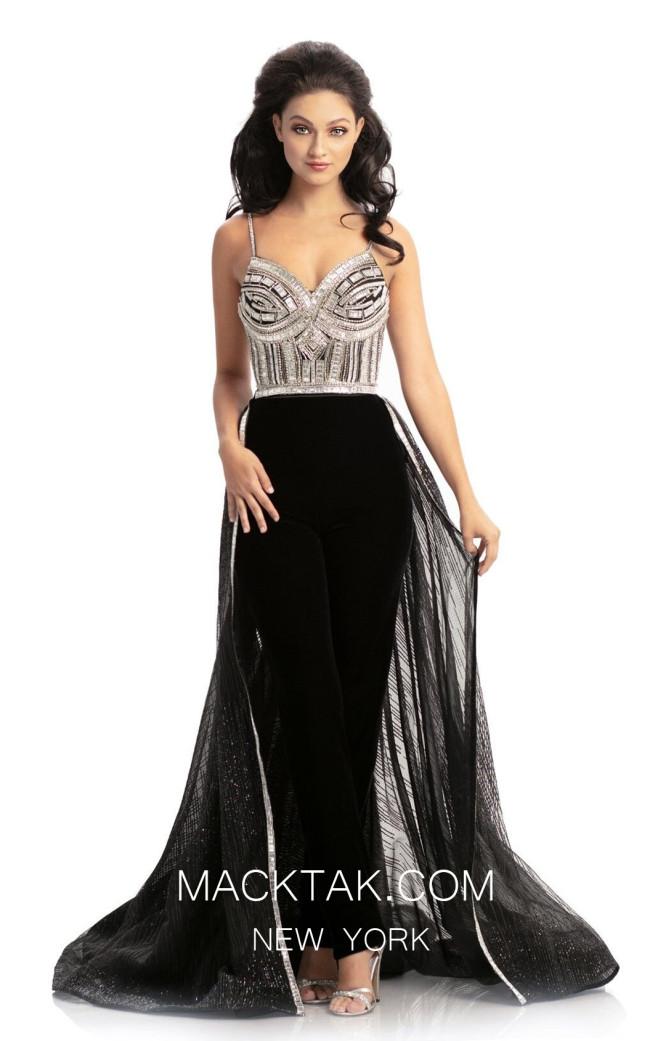 Johnathan Kayne S1 Black Front Dress
