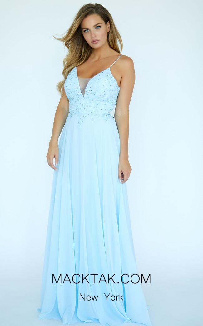 Jolene E20001 Blue Front Dress