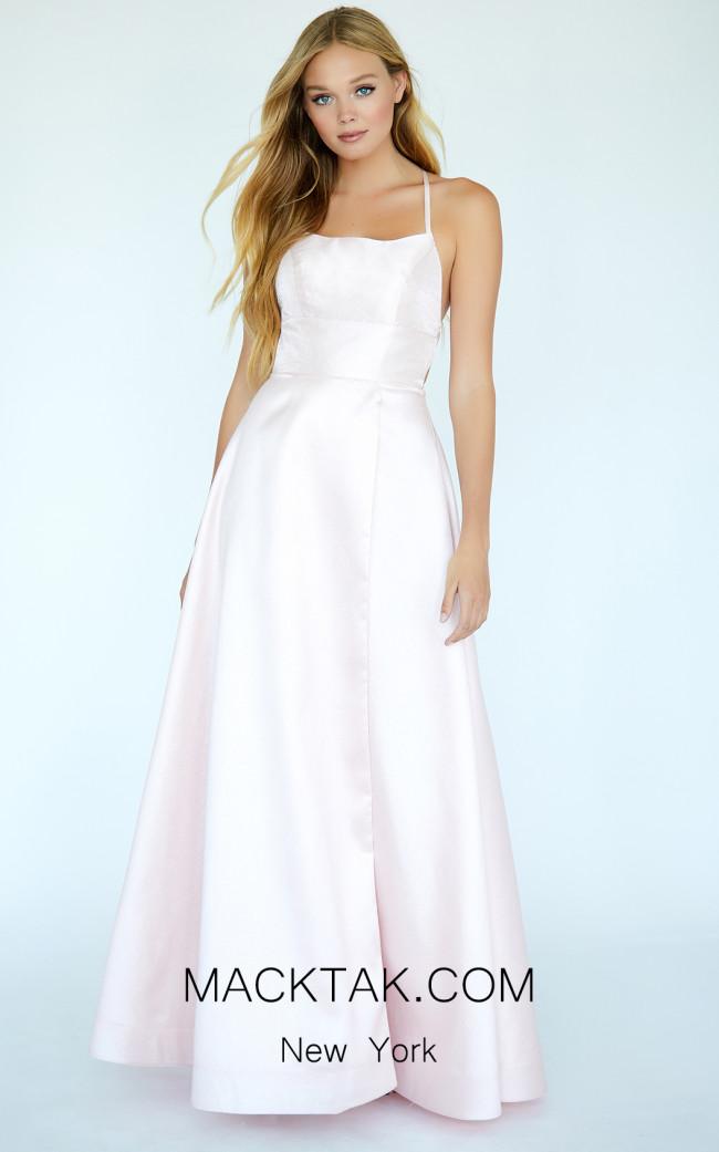 Jolene E20014 Baby Pink Front Dress