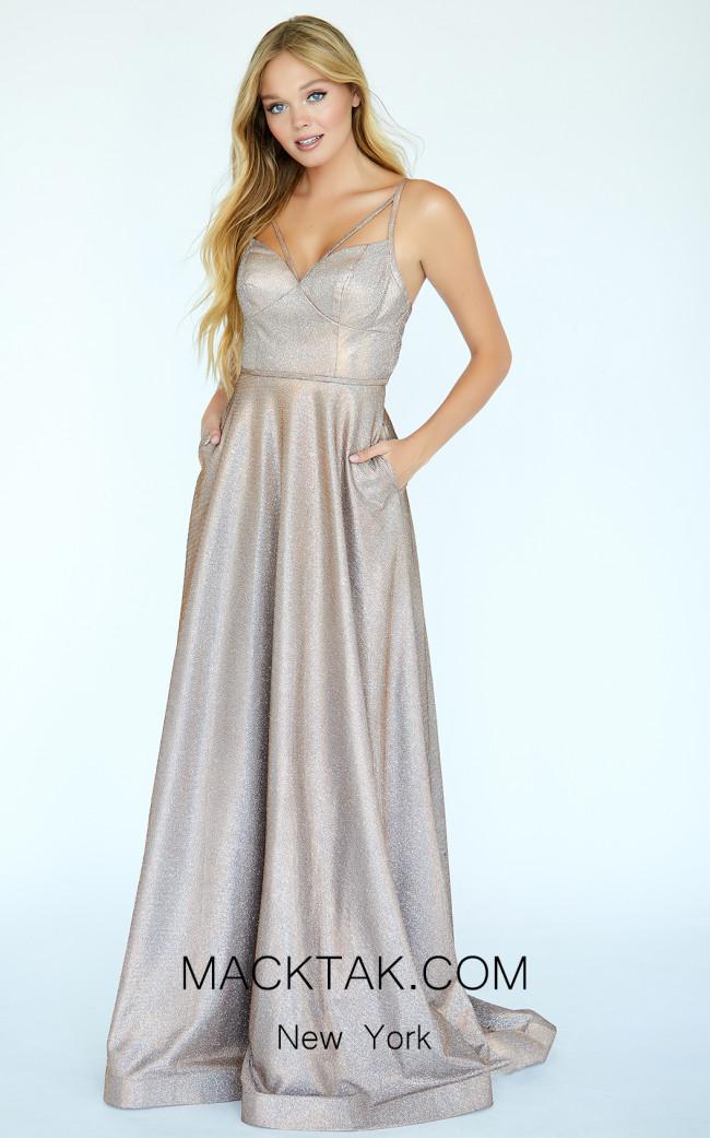 Jolene E20016 Copper Front Dress