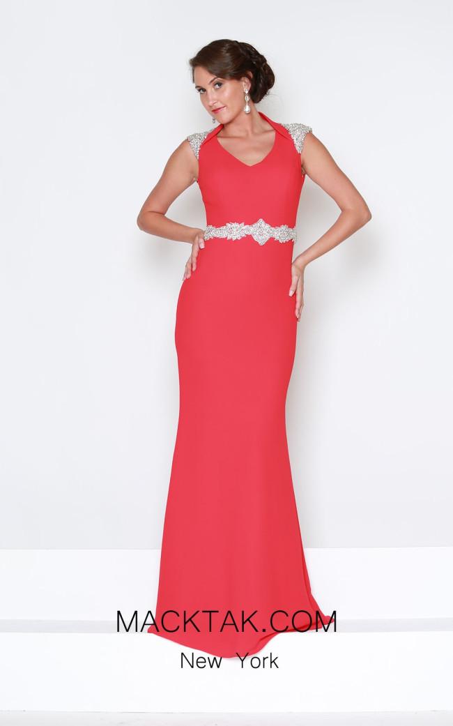 Kourosh Evening E4009 Front Dress