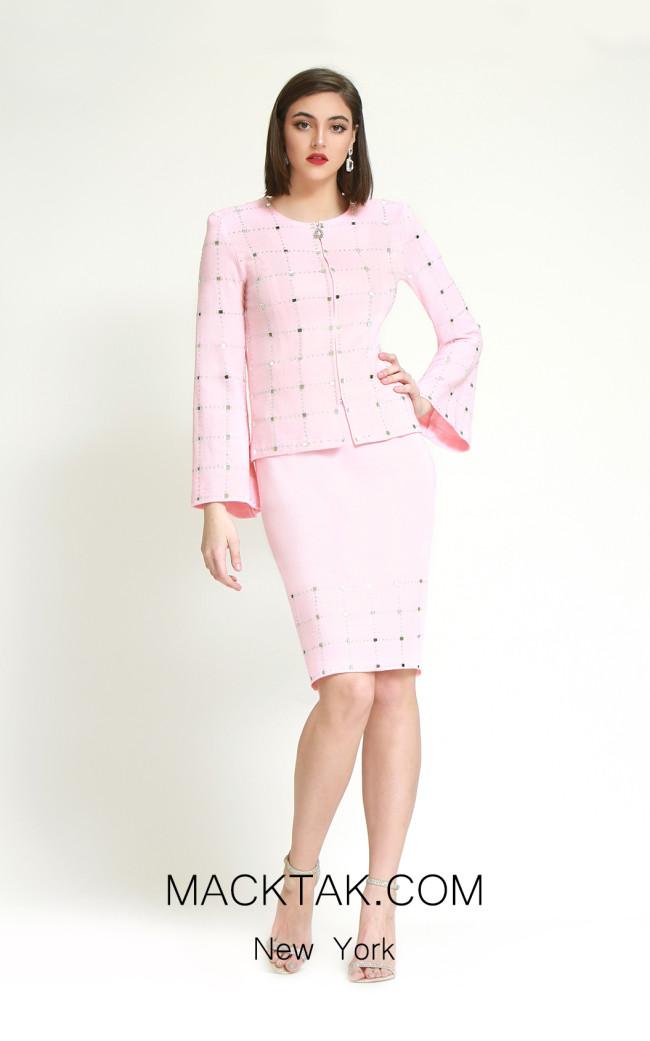 Kourosh H138 Pink Front Dress